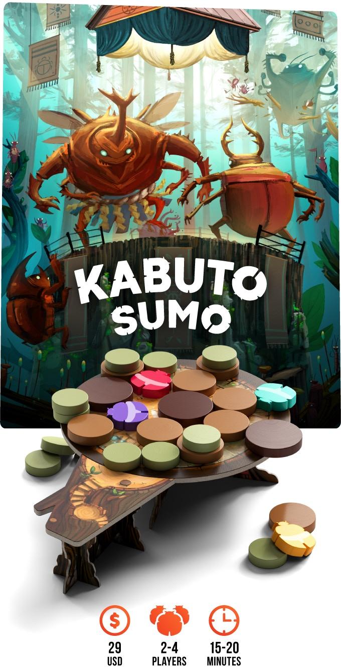 La plancia di Kabuto Sumo