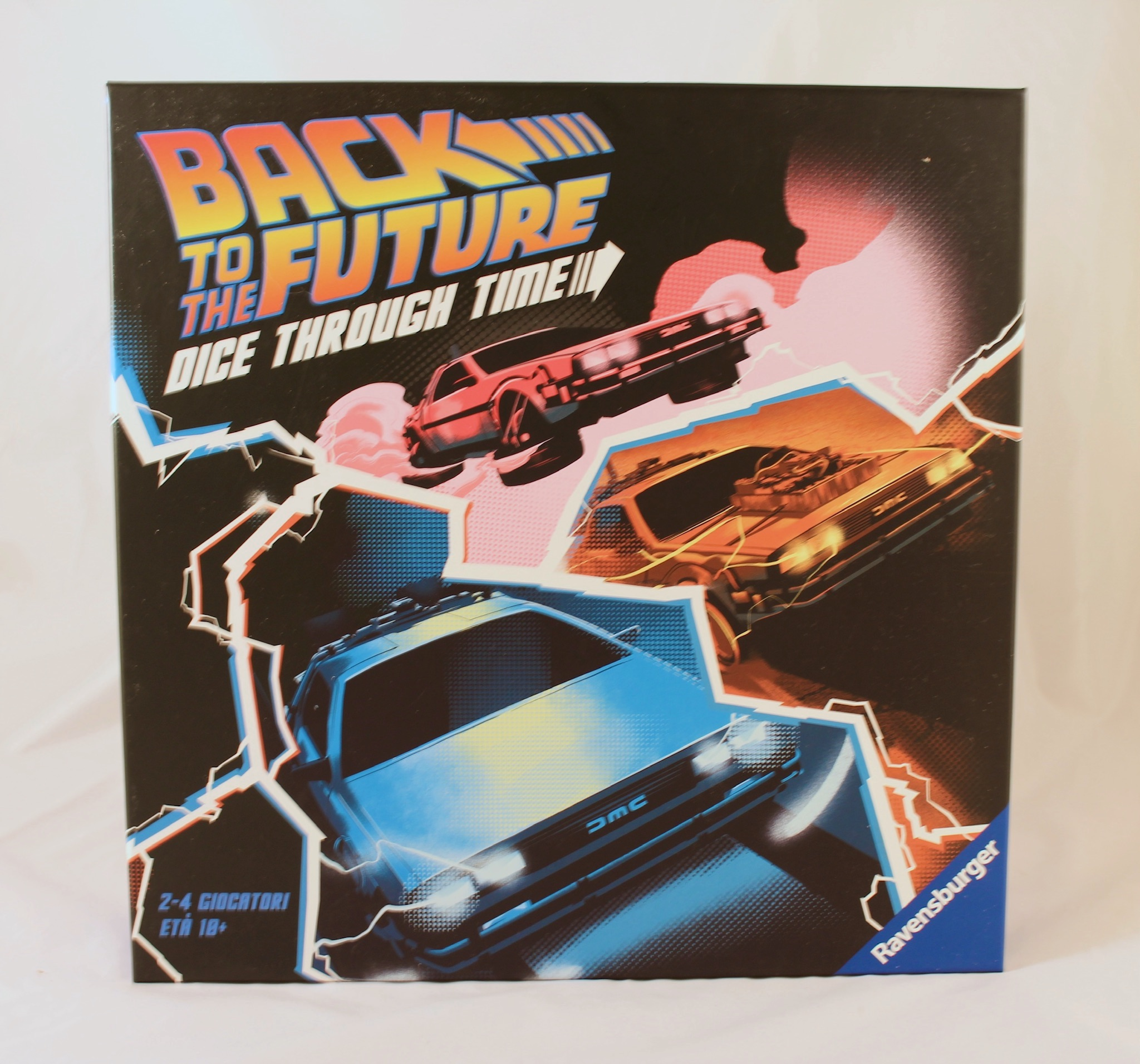 Back to The Future Dice Through Time Box Fronte