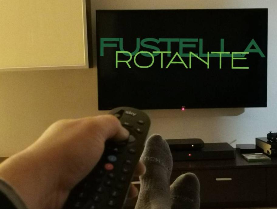 Logo di Fustella Rotante sulla tv