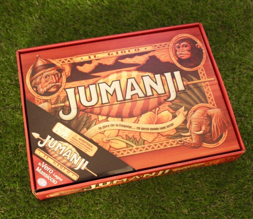 Jumanji Box Fronte