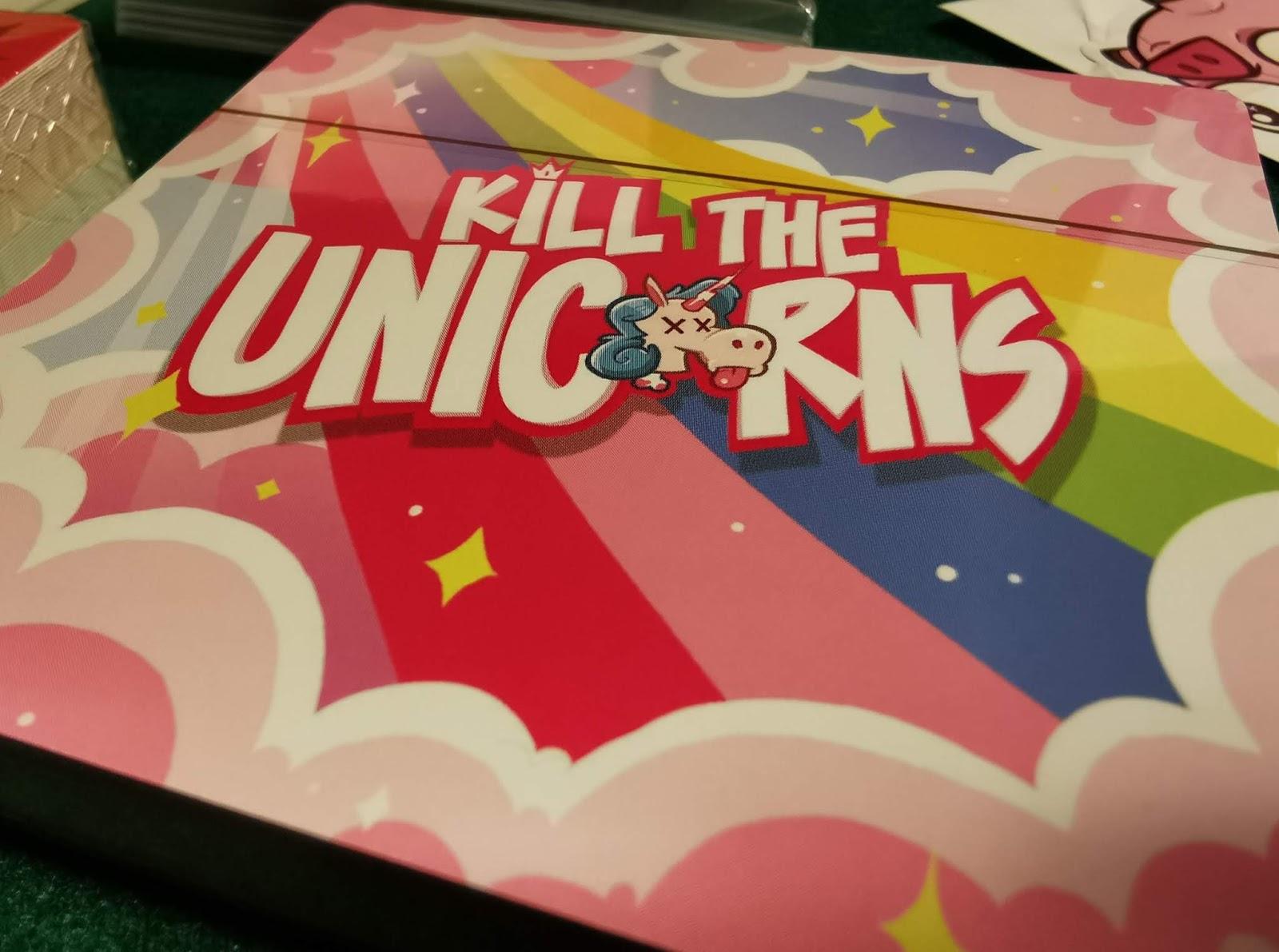 Scatola Kill the Unicorns