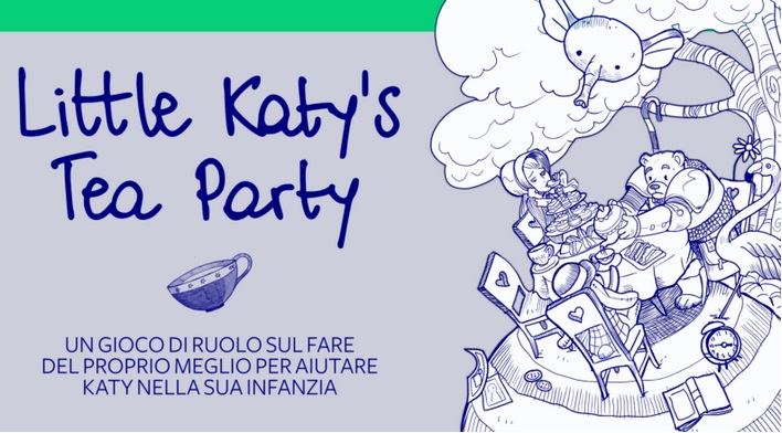 Little Katy's Tea Party di Grumpy Bear Stuff