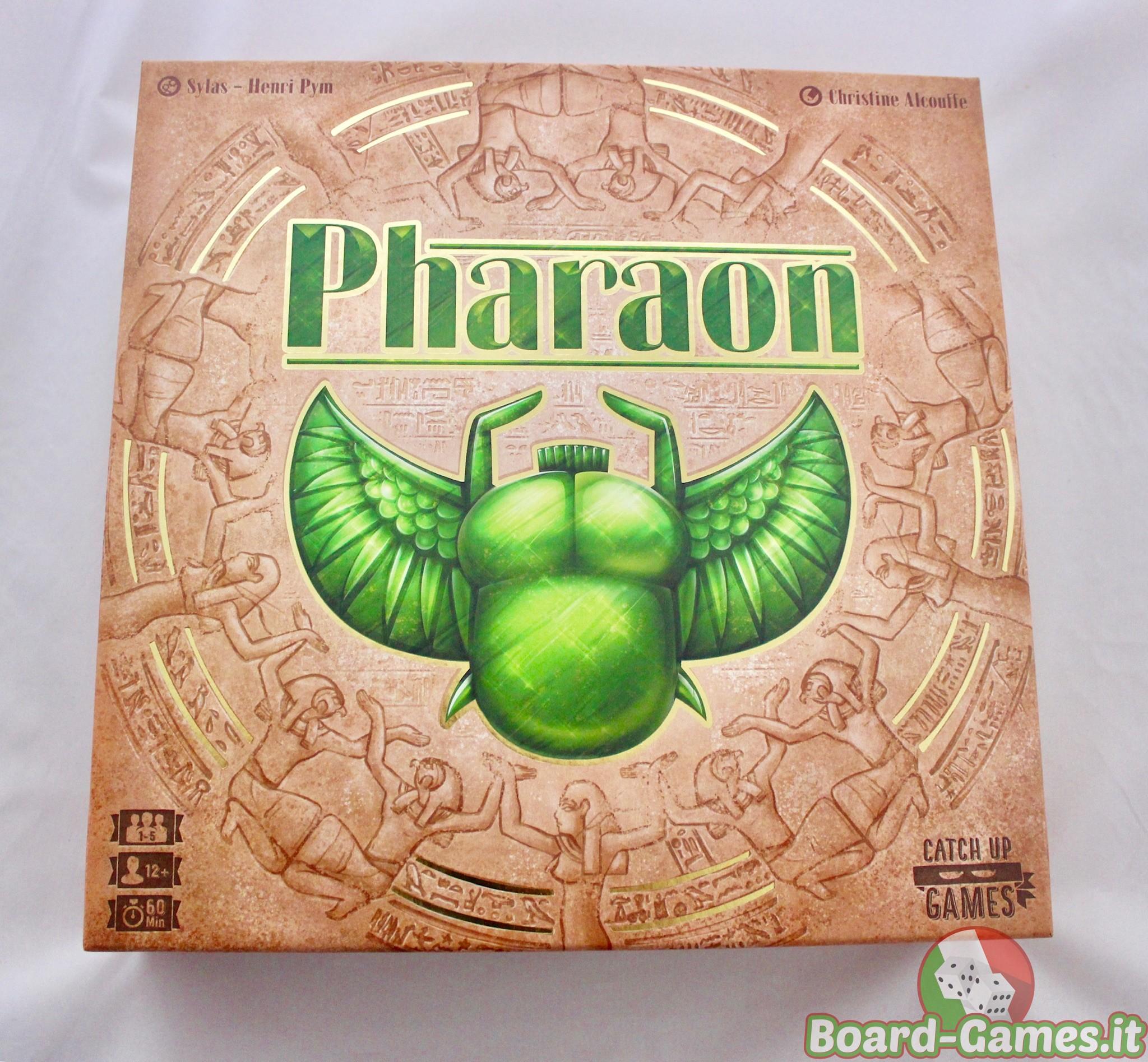 Pharaon Box Fronte