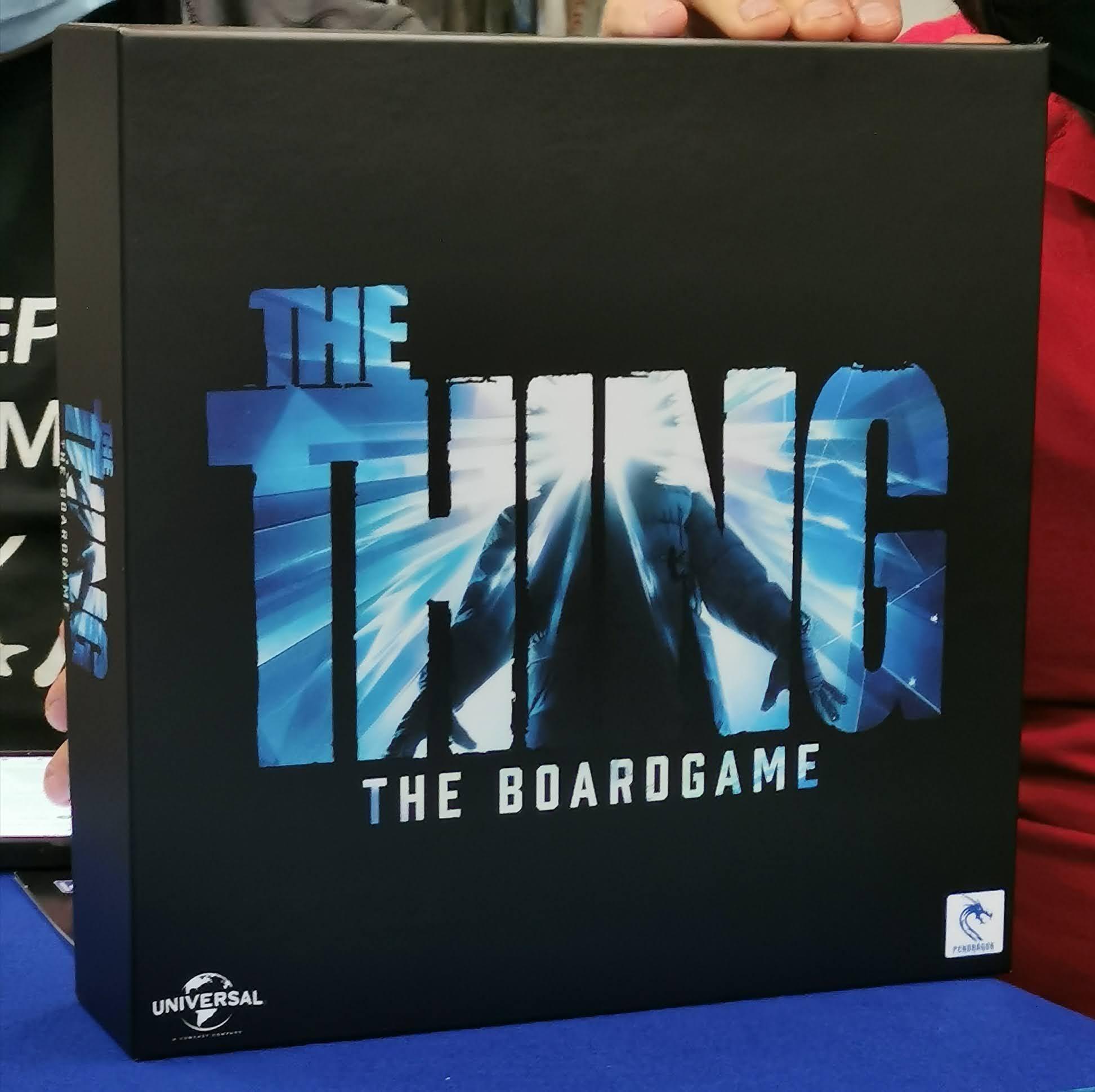 Scatola Non Definitiva di The Thing - The Boardgame