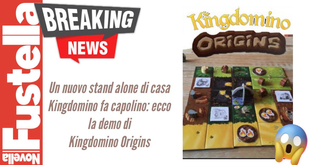 kingdomino Origins nuovo stand alone