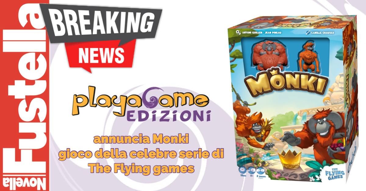 Playagame annuncia Monki
