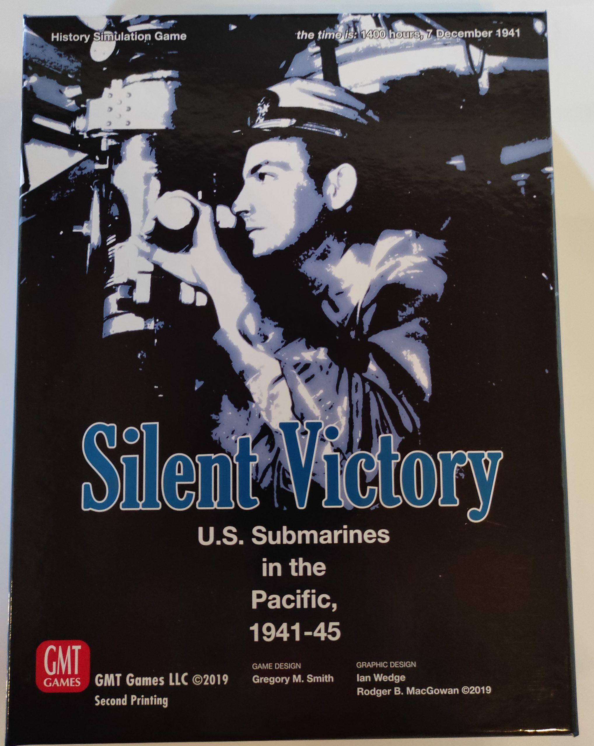 Copertina di Silent Victory