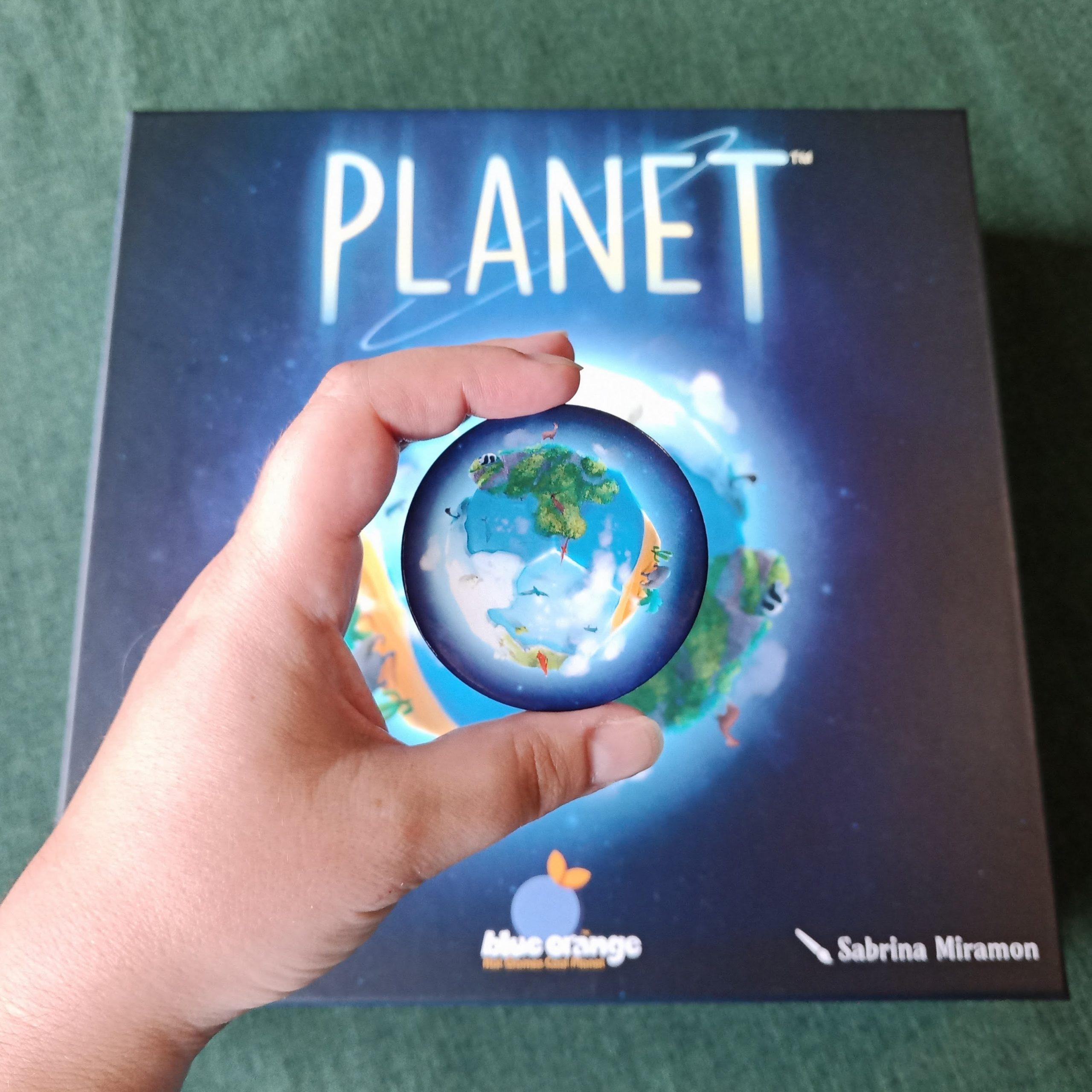 Planet segnalino primo giocatore