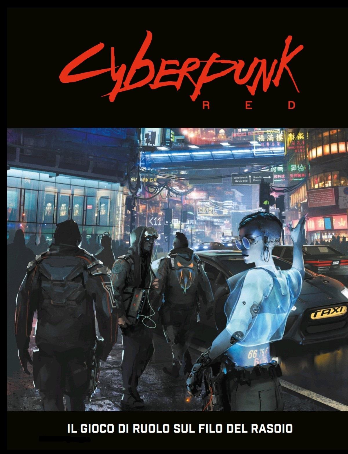 Copertina Cyberpunk Red